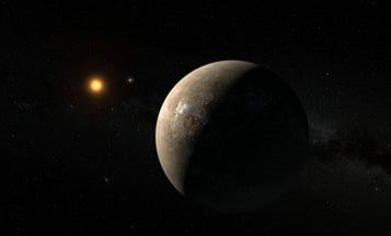 If Proxima b has an atmosphere like Earth's, it might be habitable