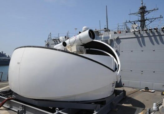 U.S. Navy To Guard Old Ship With A Freaking Laser