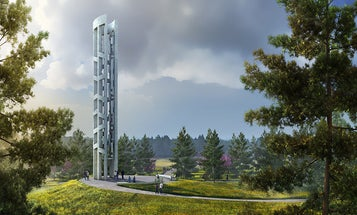 Pennsylvania's 9/11 memorial is one of the first in the world to use sound as a tribute