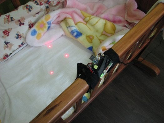 Video: New Dad Builds a Baby Monitor Out of Lasers and a Wiimote