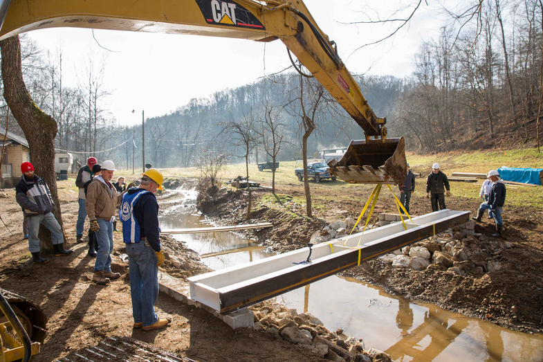 How Mennonite Volunteers Are Climate-Proofing West Virginia's Infrastructure