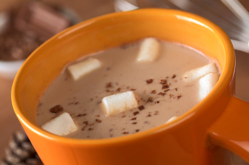 Important Science Of The Season: Hot Chocolate Tastes Better In An Orange Cup
