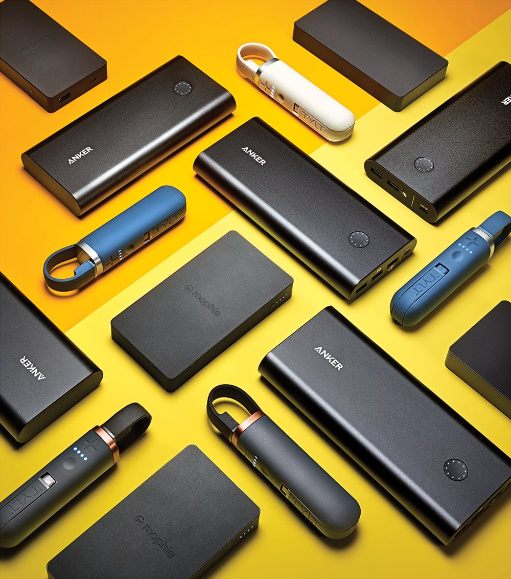 Three portable power packs to resurrect your smartphone