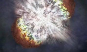 Astronomers Watch Most Massive Star Ever Go Supernova