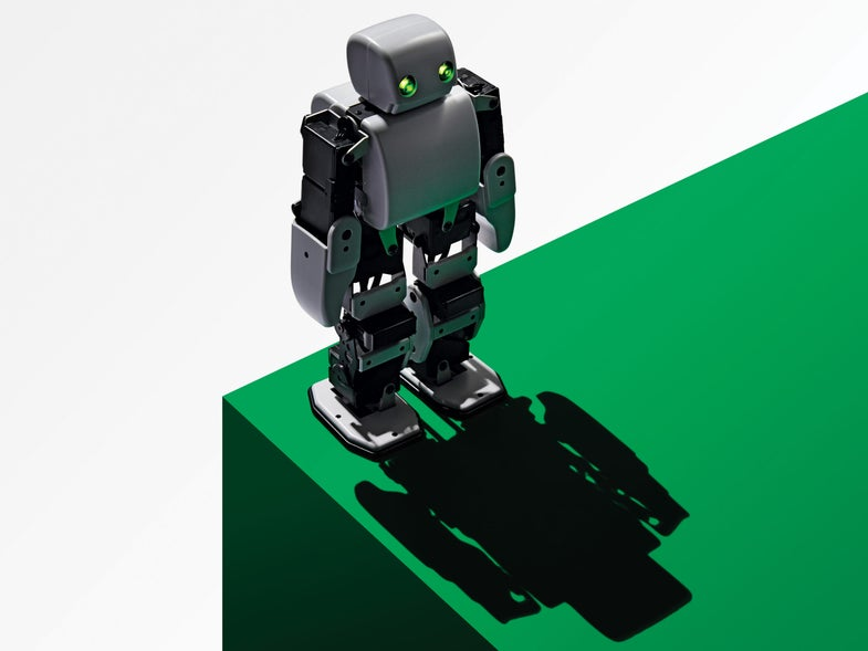 This Smartphone-Controlled Robot Wants To Dance On Your Desk