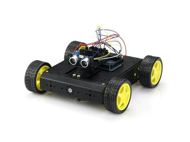 Discover the world of robotics by building your own tiny car