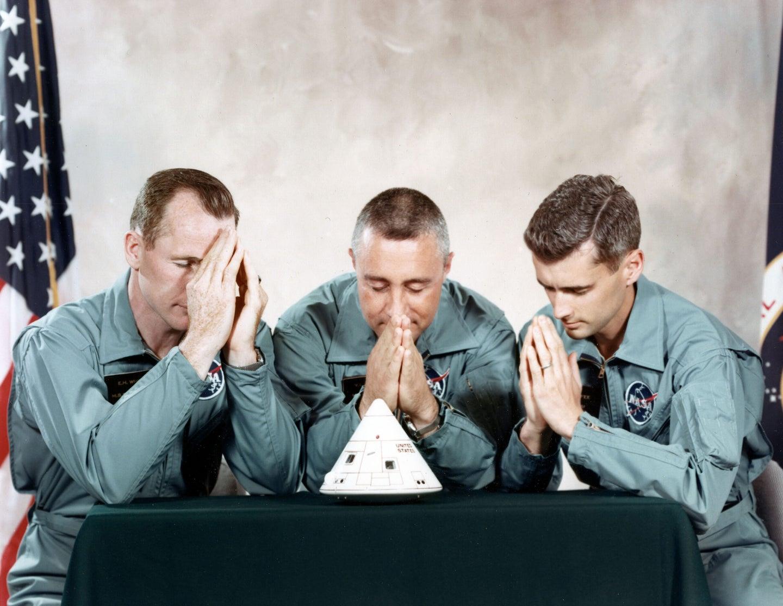 Praying on Apollo