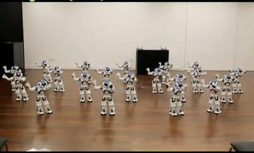 Video: French Robot Troupe Dances in Unison at Shanghai Expo