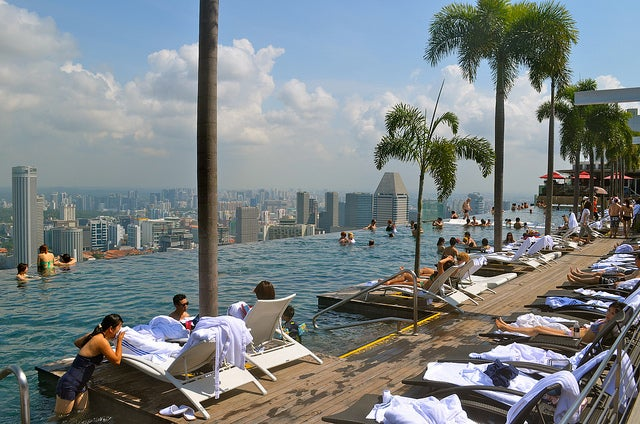 SkyPark Infinity Pool Singapore