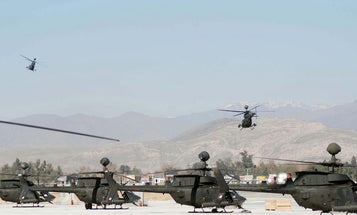 Manned and Unmanned Helicopters Most Efficient When Working Together