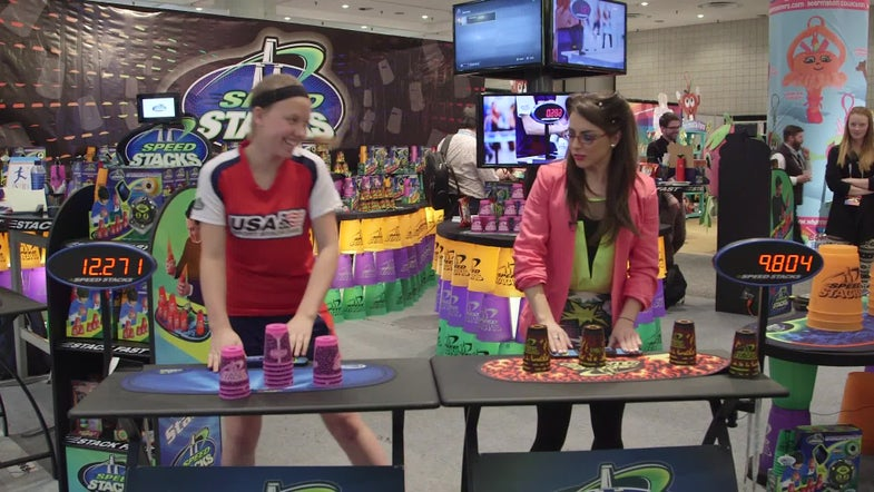 With Speed Stacks, Create And Destroy Cup Castles In The Blink Of An Eye [VIDEO]