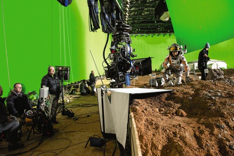Shooting The Martian