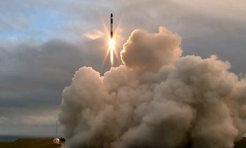 Watch New Zealand's first commercial rocket take flight