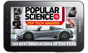 Popular Science+ Comes to the Samsung Galaxy Tab