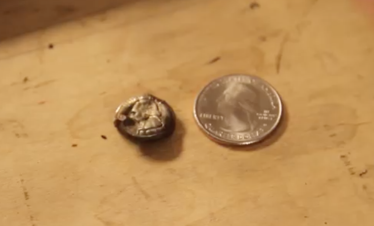Watch Super-Powerful Electromagnets Shrink Quarters