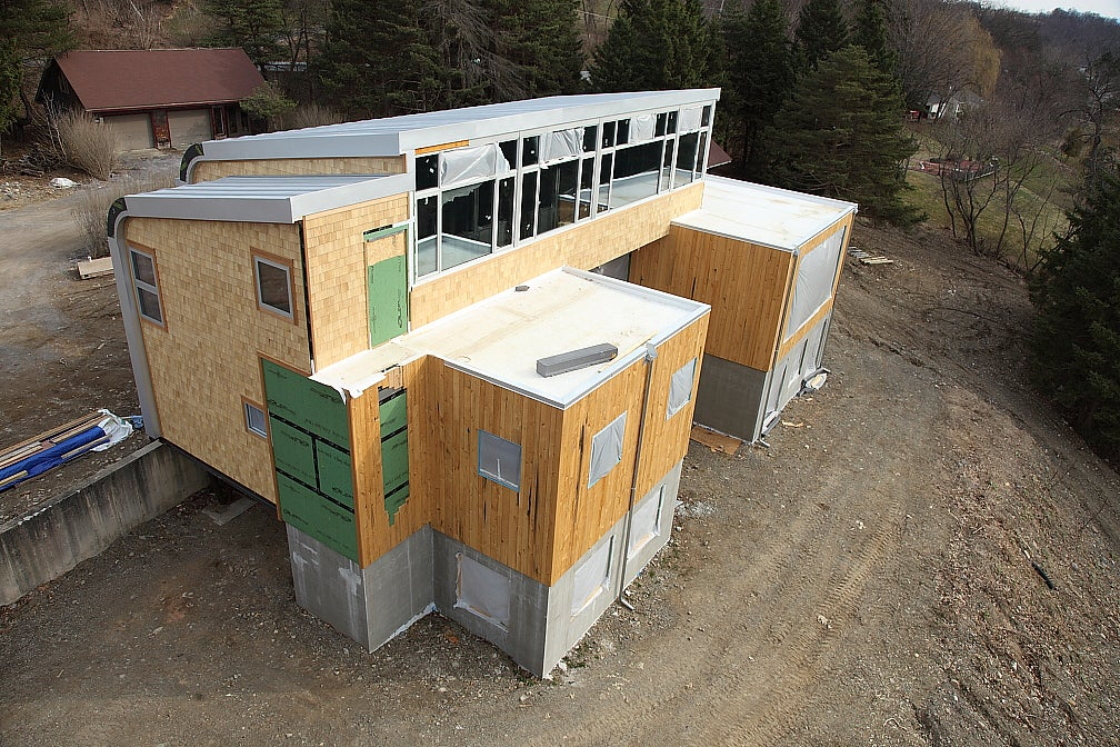 The Green Dream Gets Siding, a Roof and a Window Nightmare