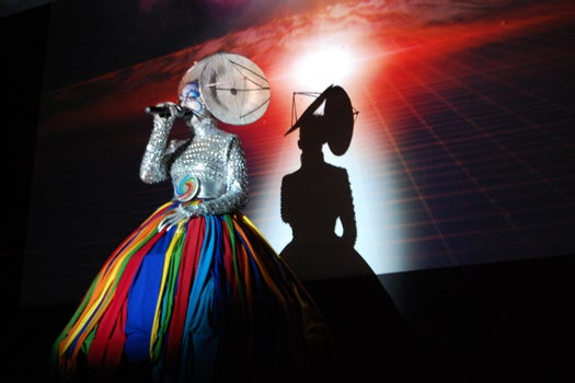A Subterranean Performance Inaugurates The Largest Earth Telescope Ever