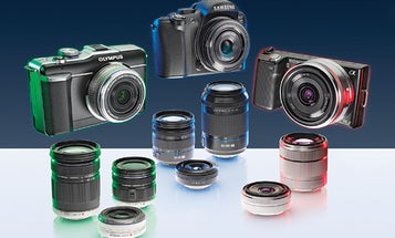 Tested: Pro-Style Interchangeable Lenses Squeeze onto Tiny Digicams