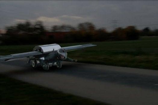 Homemade Jetpack Designed To Reach An Altitude Of 25,000 Feet