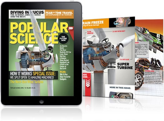 Popular Science+ For the iPad is Here!