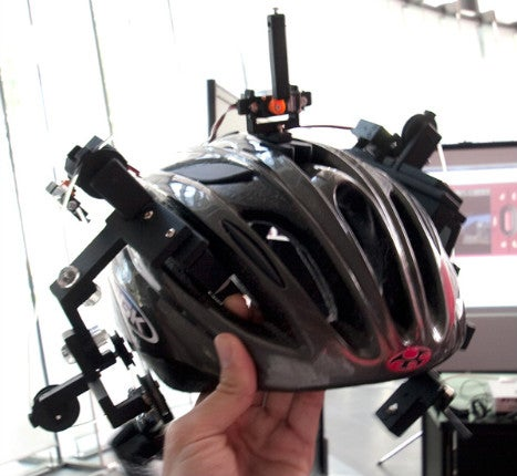 GPS Navigation Helmet Tugs Your Ear in the Direction It Wants You to Go