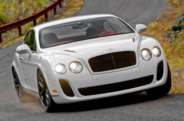 Test Drive: 2010 Bentley Continental GT Supersports