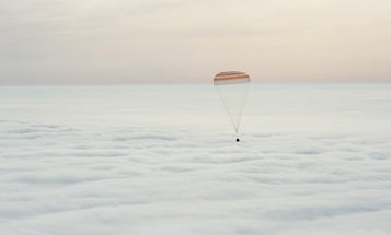 Pictures From Yesterday's Successful Space Landing