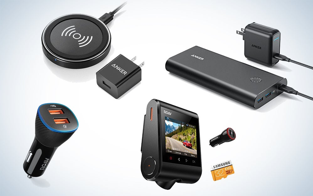 Anker charging products and Roav road gear