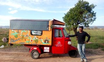 Solar-Powered Tuk Tuk To Travel More Than 6000 Miles