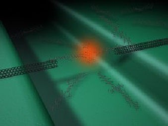 Nanotech Makes Single Molecule Glow, Showing New Promise For Tiny Optoelectronics