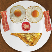 This App Turns Photos Of Food Into Faces