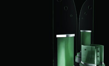 Loud and Clear: 360 Degree Glass Speakers