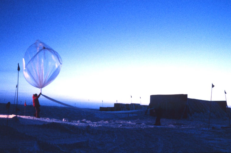 Launch a Balloon for Science