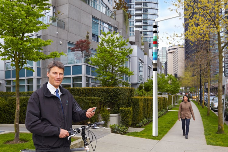 """Snazzy All-in-One """"Vancouver Poles"""" to Replace Ugly Urban Forest of Cell Towers and Cables"""