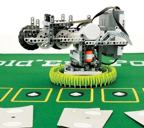Theme Building: Leisure-Time Robots