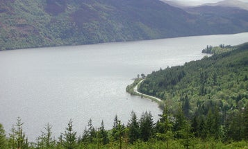 Loch Ness, Like a Giant Level, Shows How Scotland Bends With the Tides