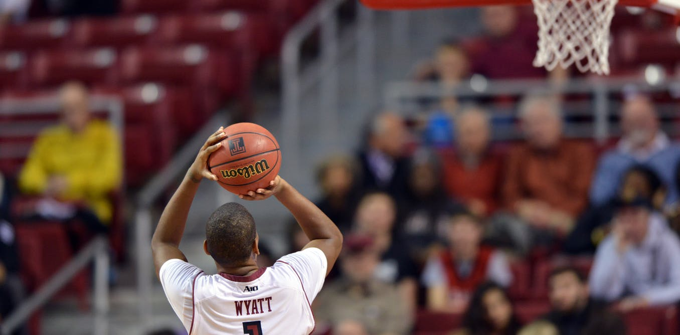 The math behind the perfect free throw