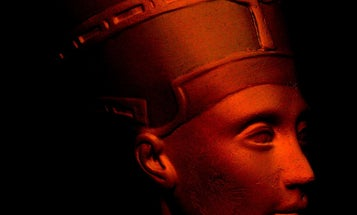 Artists Likely Faked Surreptitious Scan Of Nefertiti Bust