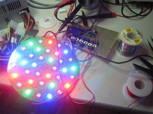 Open Source Homeland Security: The $250 DIY Bedazzler Induces Nausea via LEDs