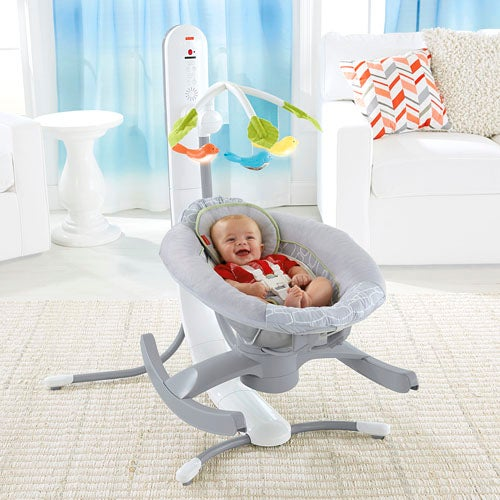 Remotely Rocking Cradle Is The Next Step Towards 'Brave New World'