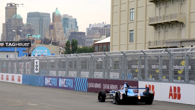 Electric race cars will finally get through a race without recharging