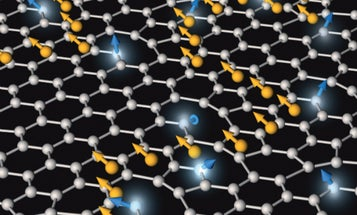 Magnetic Graphene Clouds Can Be Made To Appear And Disappear