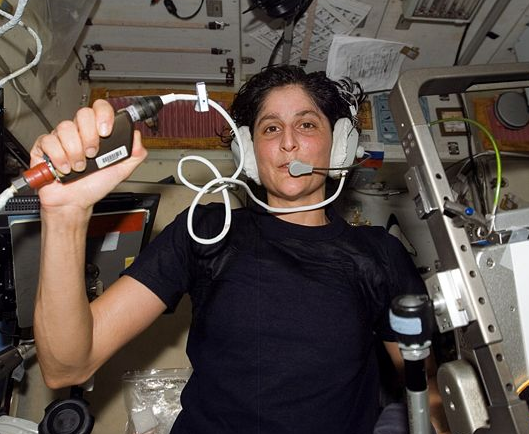 NASA Astronaut Suni Williams Completes First Triathlon In Space