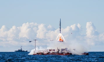 Open Source Outer Space: How A Couple Of Guys Are Building A Homemade Rocket Ship for the Masses