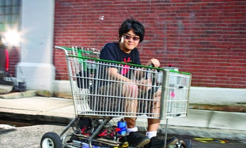 You Built What?! The Shopping Go-Kart