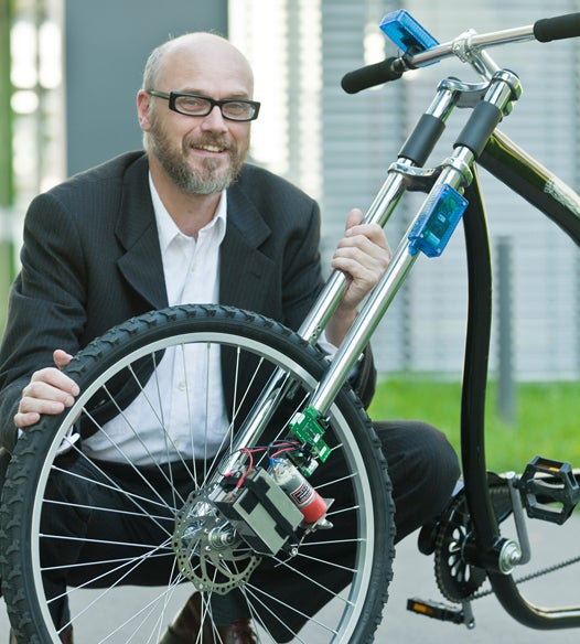 The World's Most Failsafe Wireless Bicycle Brake Could Seed a Variety of Super-Safe Technologies