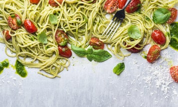 Worried pasta will make you fat? Spaghettaboutit.