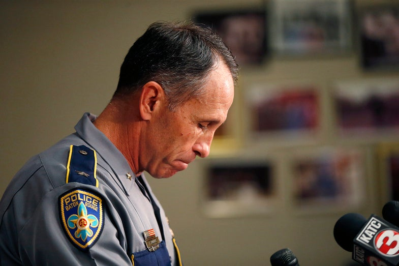 Where's The Baton Rouge Police Body Camera Footage?