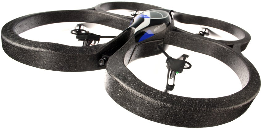 Parrot AR Drone Turns Real Life into a Video Game