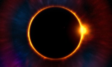 The play-by-play of a total solar eclipse